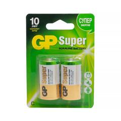 Батарейки GP Super средние C LR14 (2 штуки в упаковке)