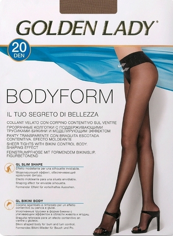 Bodyform 20 GOLDEN LADY колготки