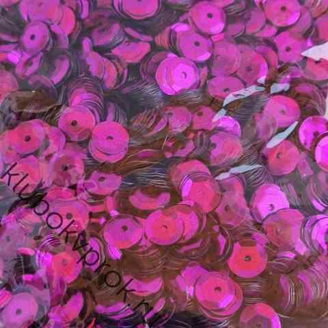 Пайетки 8мм 50гр, Фиолетовый