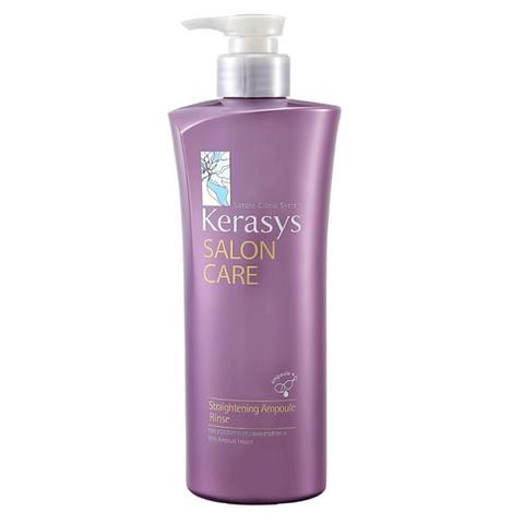 Кондиционер для волос Kerasys Salon Care Straightening Ampoule для гладкости и блеска волос 470 гр