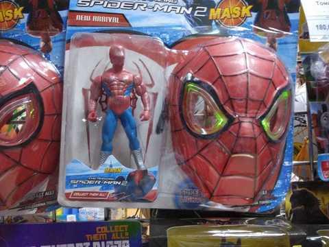 Человек паук с маской игрушка