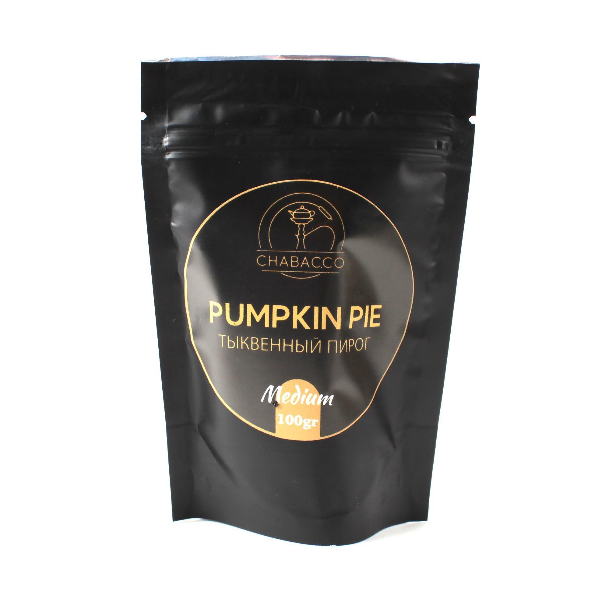 Кальянная смесь Chabacco Medium 100 гр Pumpkin Pie