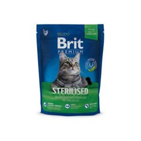 3926 Brit Premium Cat Sterilized д/стерилизованных животных 300 гр*10