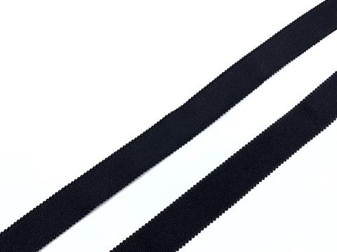 Резинка бретелечная черная 20 мм Lauma
