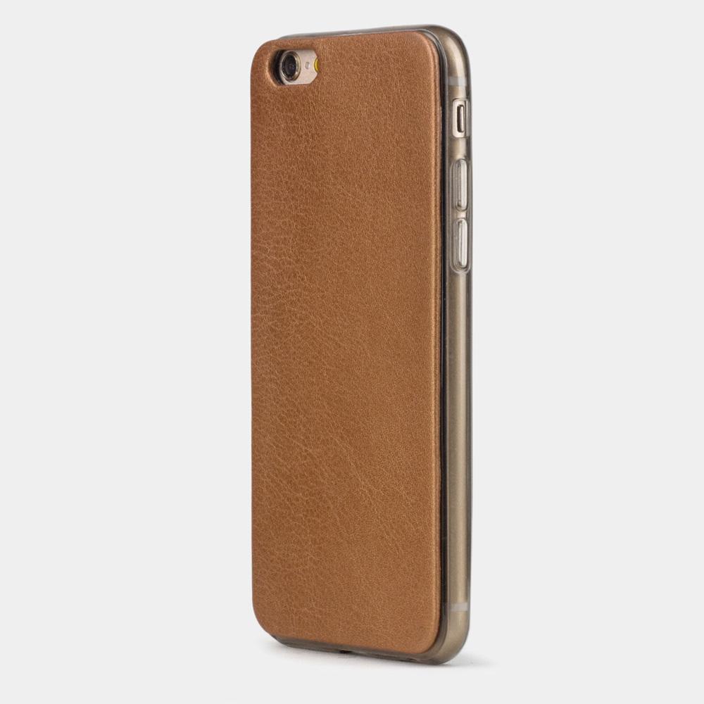 Чехол-накладка для iPhone 6/6S из натуральной кожи теленка, медного цвета