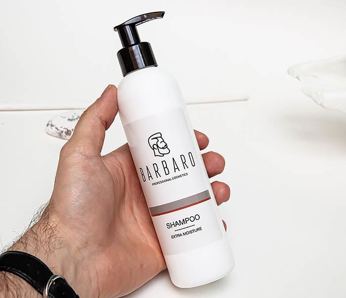 CARE137 Мужской экстра увлажняющий шампунь для волос «Barbaro» (220 мл) фото 03