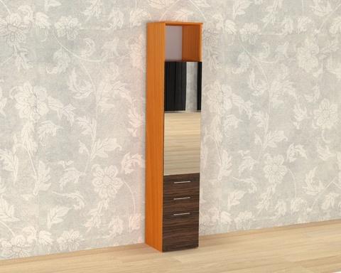 Шкаф ИТАЛИ-2 с зеркалом /400*2152*373/  правый