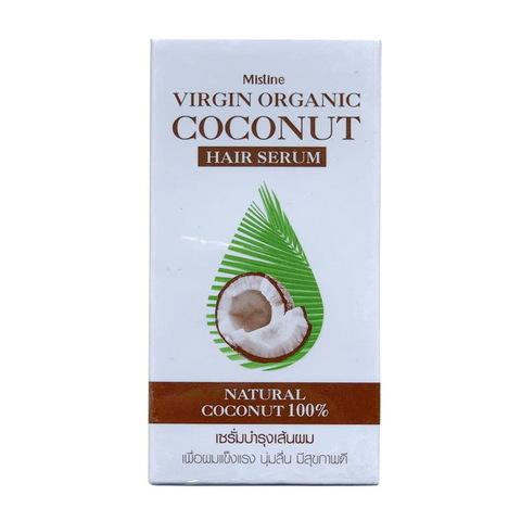 Органическая кокосовая сыворотка для волос Mistine, 35 мл.