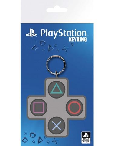 Брелок силиконовый PlayStation (кнопки)