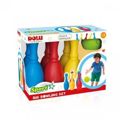 Большой набор боулинг Dolu из 6 кеглей и 1 шаром DL_6170