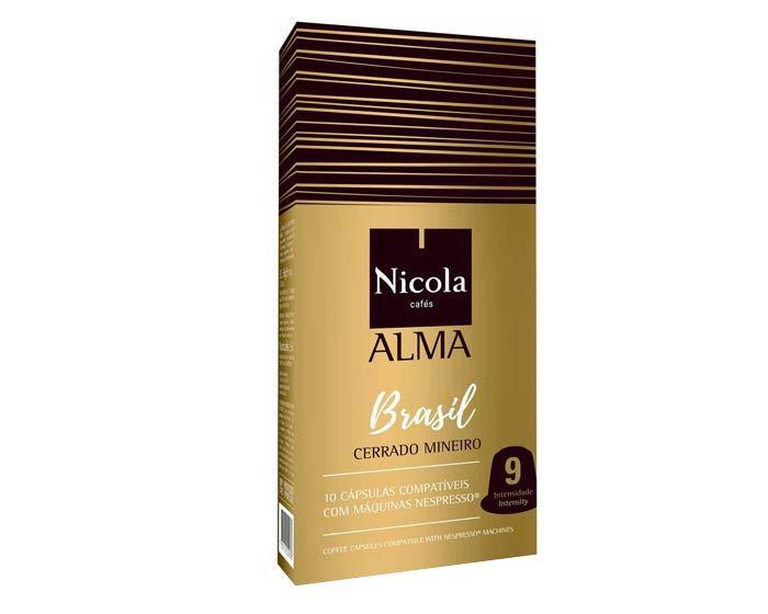Кофе в капсулах Nicola Alma Brasile