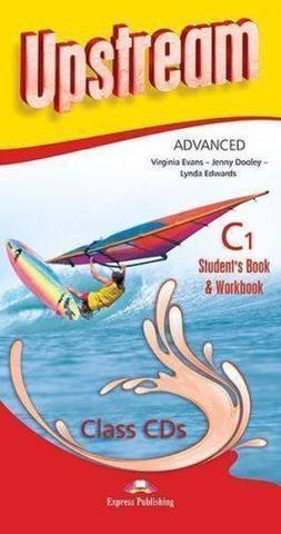 Upstream Advanced C1. Student's Book & Workbook Class CDs (set of 8) (3rd edition). Аудио CD для работы в классе