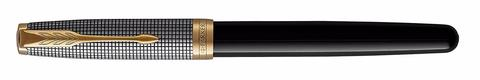 Ручка роллер Parker Sonnet Chiselled and Black GT123