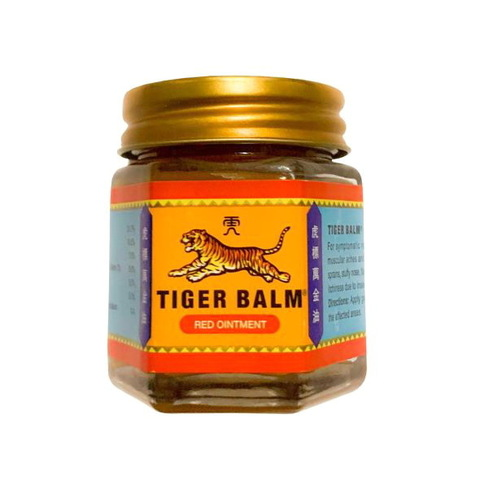 Красный Тигровый бальзам из Таиланда Tiger Balm Red Ointment, 30 мл.