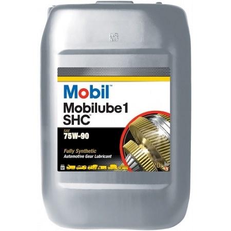 Купить на сайте официального дилера HT-OIL.RU MOBIL MOBILUBE 1 SHC 75W-90 трансмиссионное масло для МКПП синтетическое артикул 123716 (20 Литров)