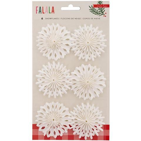 Украшения Snowflakes Fa La La Delights Embellishments 6 шт
