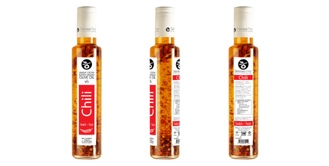 Оливковое масло с перцем чили Delicious Crete 250 мл