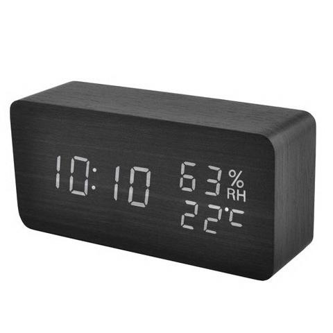 Часы сетевые 862S-6 белые, USB