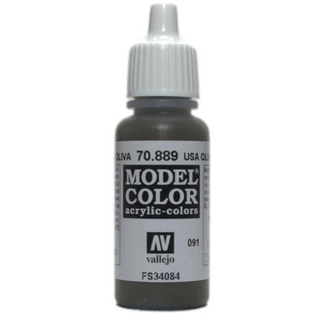 Model Color Olive Brown (Usa Olive Drab) 17 ml.