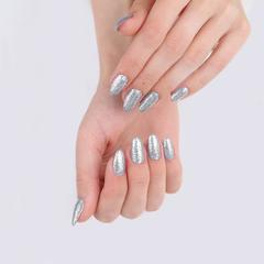 Гель-лак MIX 106 Silver Metal Flakes, 6 мл