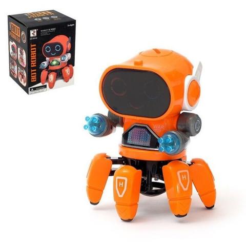 Интерактивная игрушка танцующий робот Robot Bot Pioneer