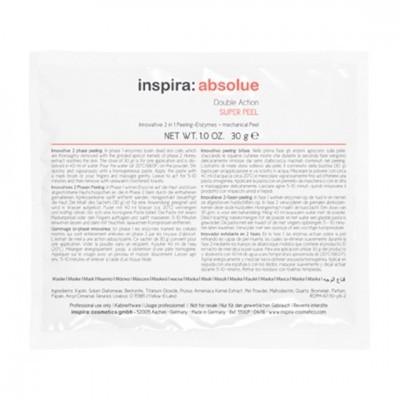 INSPIRA Absolue: Энзимный скраб 2-в-1 для лица (Double Action Super Peel), 1*30г/10*30г