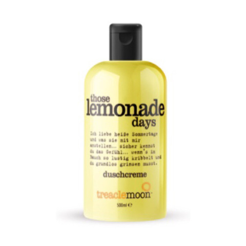 TREACLEMOON | Домашний лимонад / Those lemonade days Bath & shower gel, (500 мл)