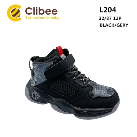 Clibee L204 Black/Grey 32-37