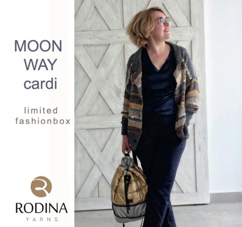 Limited Fashionbox — Набор MOON WAY для вязания кардигана