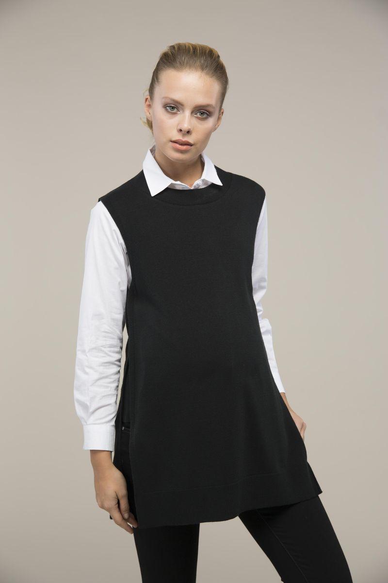 Свитер для беременных 08995 чёрный
