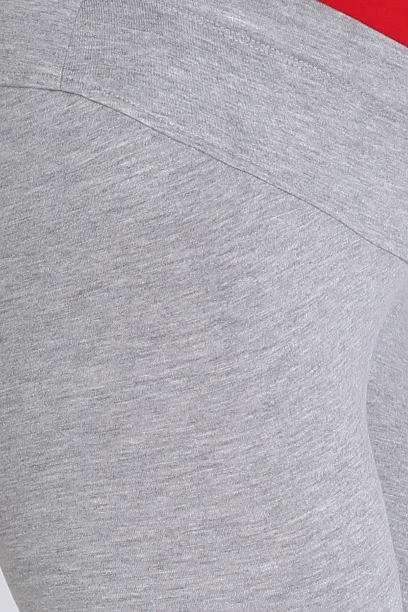 Леггинсы для беременных 04950 серый меланж
