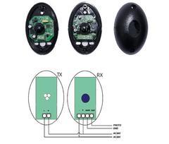 RT-F1 - Фотоэлементы / передатчик, приемник / накладные, дальность 20 м R-Tech