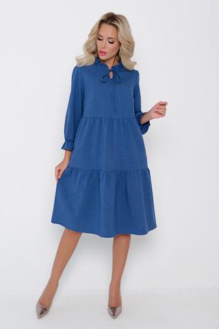 <p>Романтичное, летящее платье с благородными оттенками играет настолько сильно, что делает изделие изумительным. Модный фасон и идеальная посадка - один из важных моментов при подборе платья. <span>Длина изделия 100 см.</span></p>