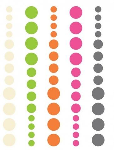 Набор эмалевых точек Diy enamel dots 60шт.