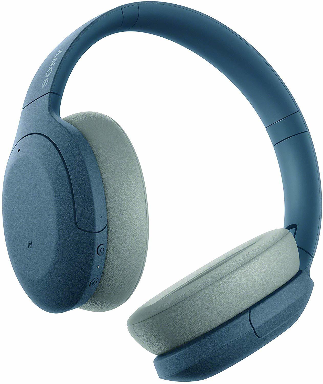 Беспроводные наушники WH-H910NL синие купить в Sony Centre