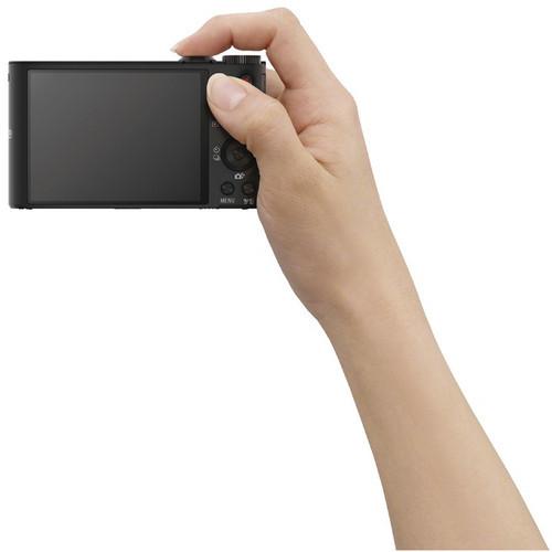 Компактный фотоаппарат Фотоаппарат Sony DSC-WX350B с 20-кратным зумом