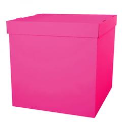 Коробка для шаров (Фуксия) 60*80*80 см.