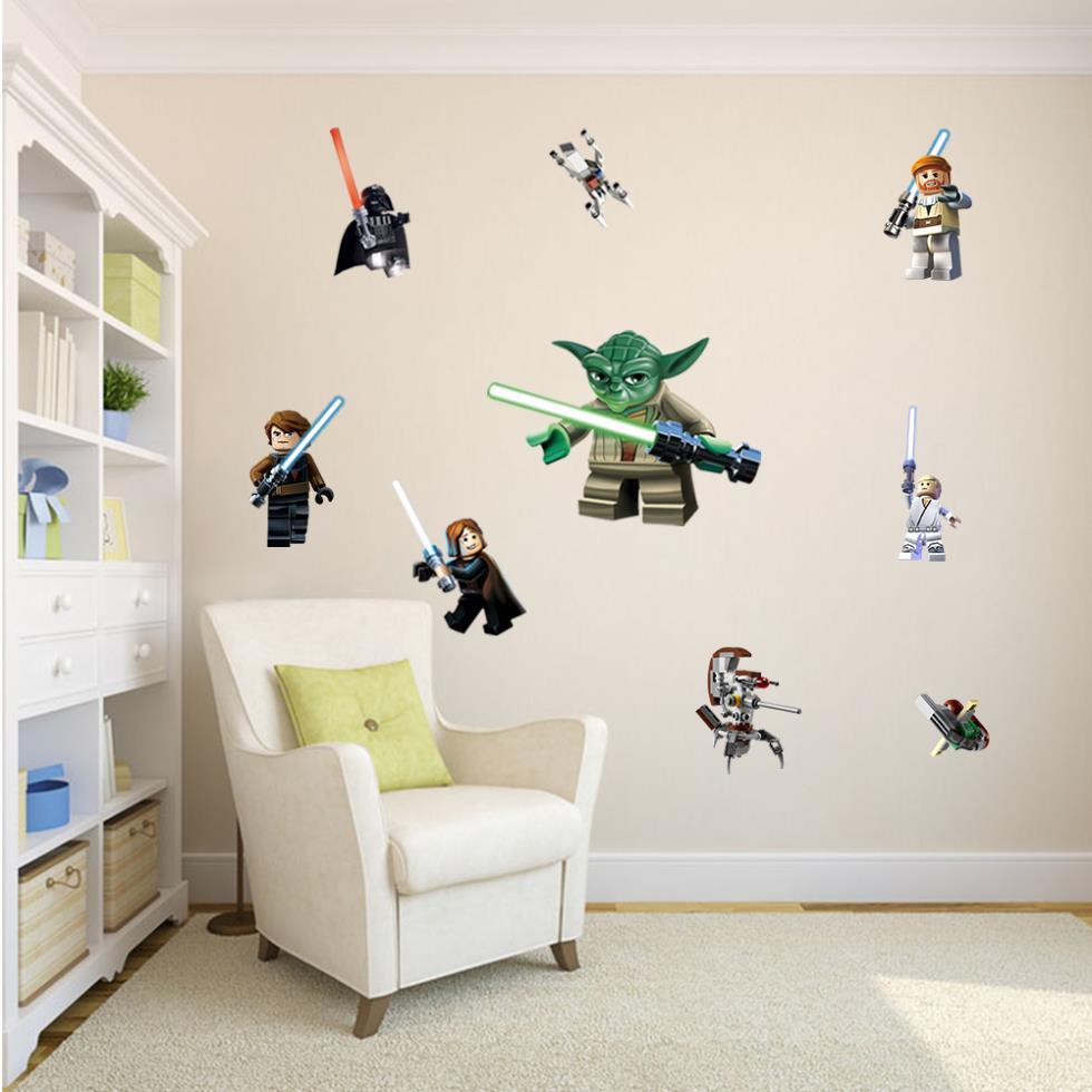 Wall Sticker Wallpaper 3D Art — Minifigure
