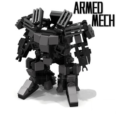 Minifigures Model The Armed Mech