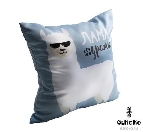 Подушка декоративная Gekoko «Лама без драмы» 4