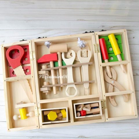Детский набор инструментов (деревянный)