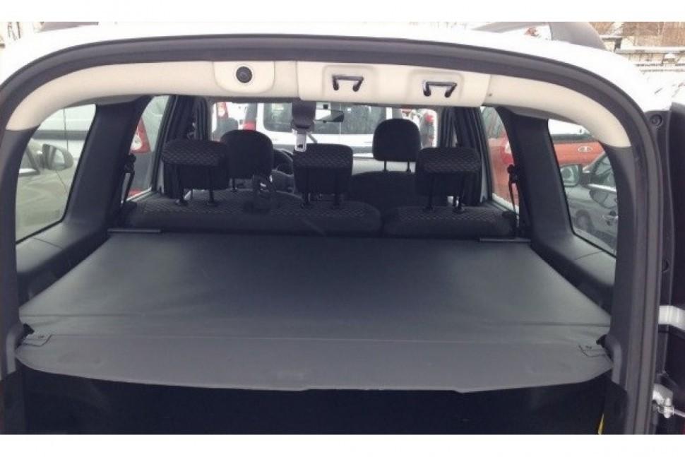 Полка - шторка багажника, натяжная для Лада Ларгус