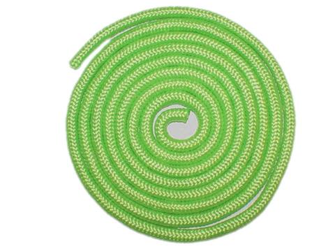 Скакалка гимнастическая, 3 метра. Цвет салатовый. :(TS-01):