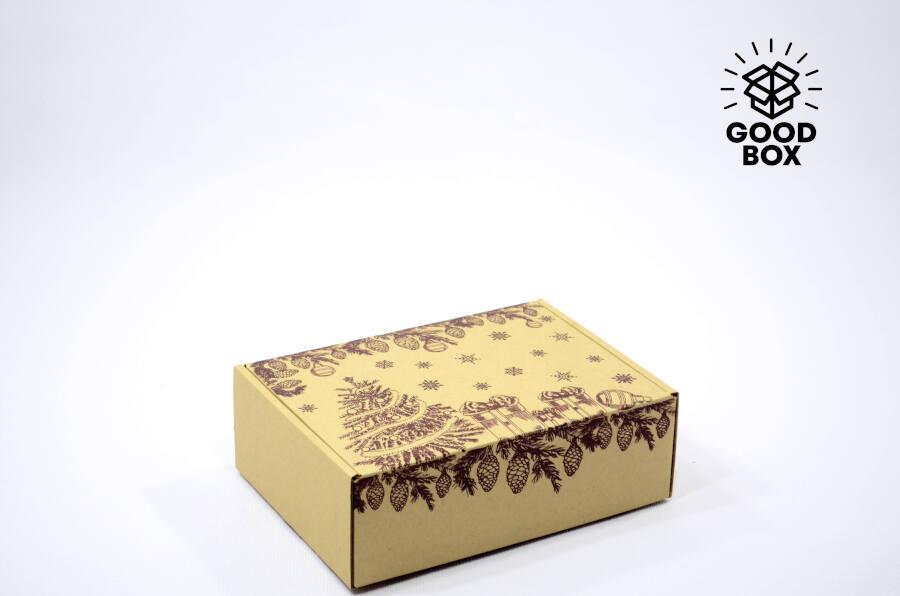 Коробка на новый год купить в Алматы