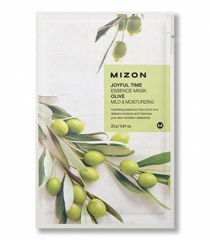 Mizon Тканевая маска с оливой Joyful Time Essence Mask Olive 1 шт.
