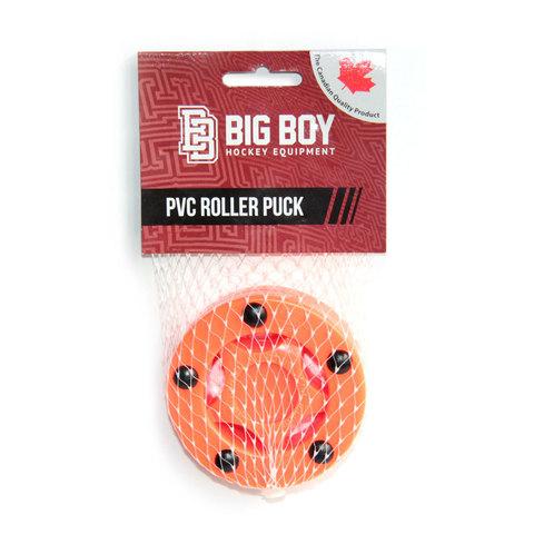 Шайба для стрит-хоккея BIG BOY PVC оранжевая