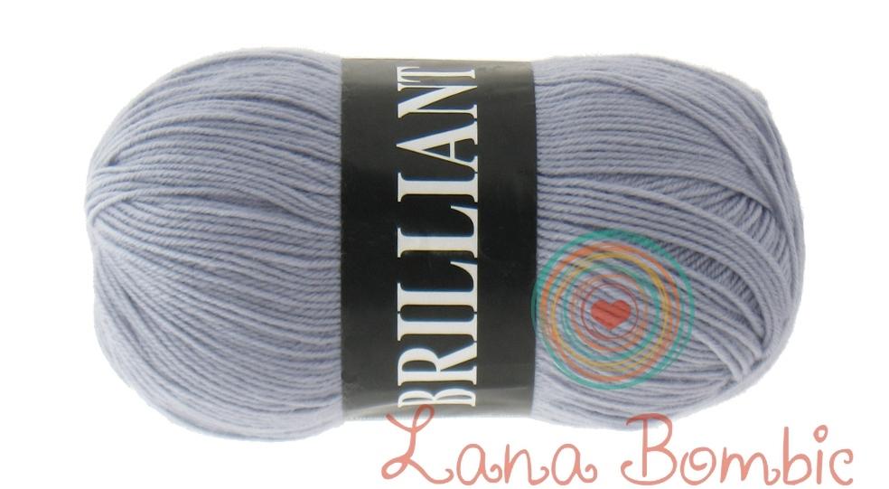 Пряжа Vita Brilliant светло-серый 4963