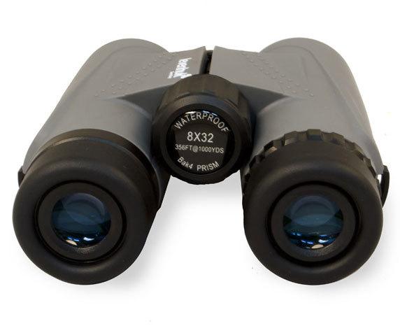 Бинокль Levenhuk Karma Plus 8x32: окуляры и колесо центральной фокусировки