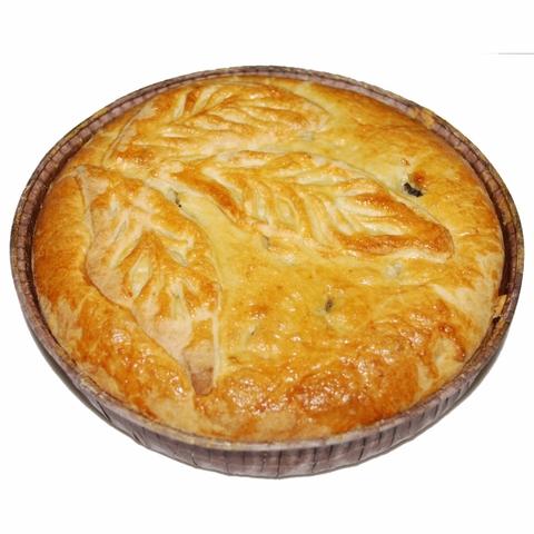 Пирог с капустой и сыром 1 кг