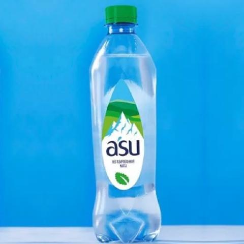 Вода A`SU Мята б/газа 1 л КАЗАХСТАН